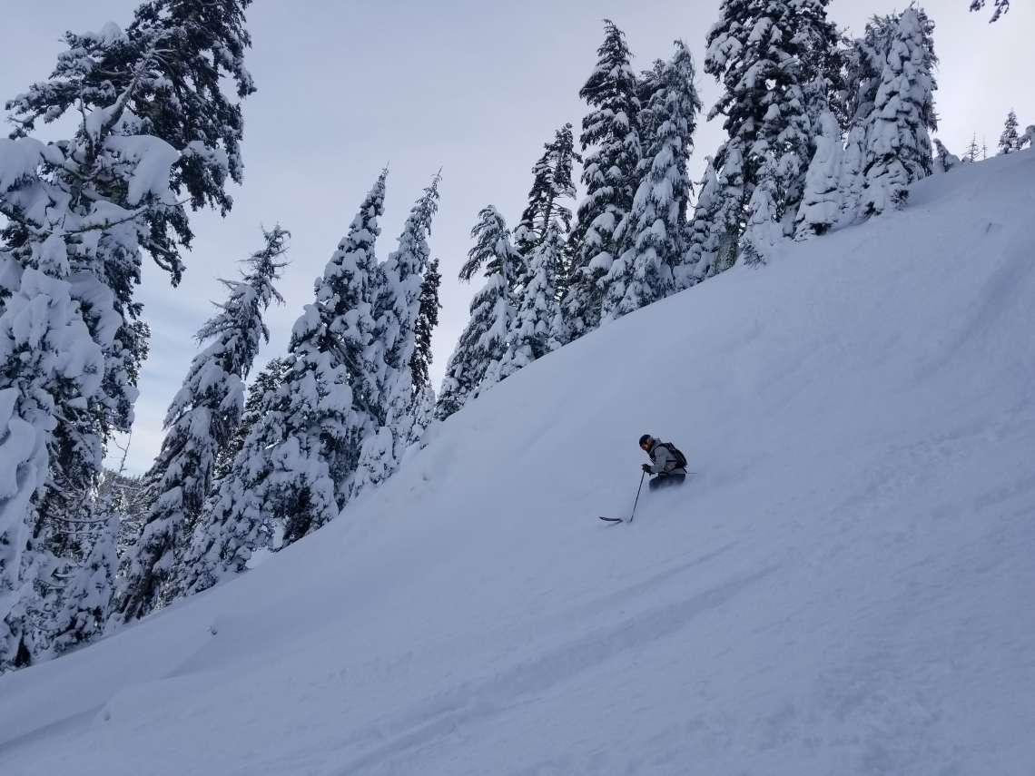 Alpine Meadows Powder Skiing - Lake Tahoe