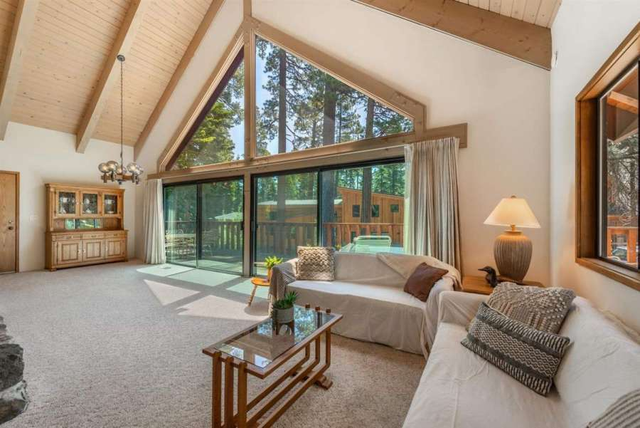 180 Quiet Walk Rd. | Great room with picture windows