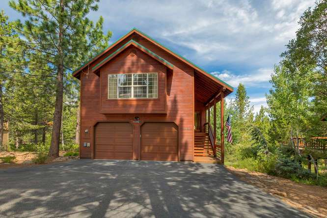 Cabin in Tahoe Donner | 12418-Snowpeak-Way-Truckee-CA | Front Exterior