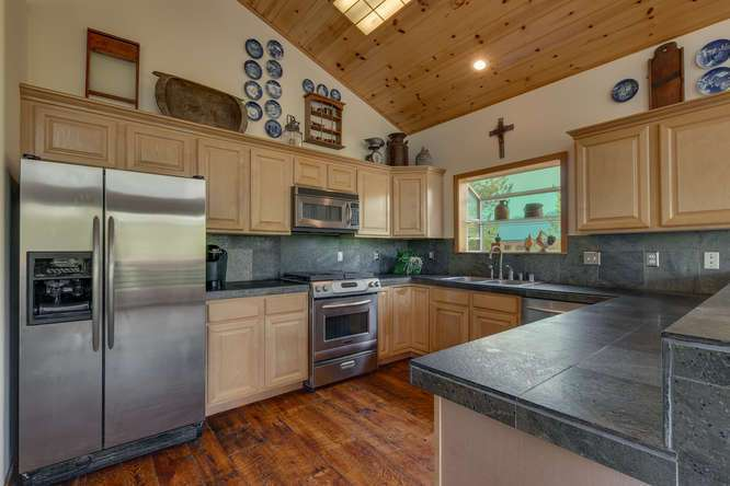Tahoe Donner Real Estate  | 12418-Snowpeak-Way-Truckee-CA | Kitchen