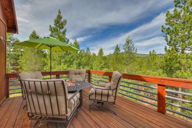 Truckee Real Estate  | 12418-Snowpeak-Way-Truckee-CA | Upstairs Pation