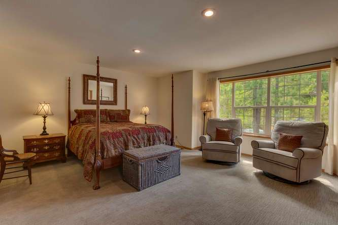Truckee Cabin  | 12418-Snowpeak-Way-Truckee-CA | Master Bedroom