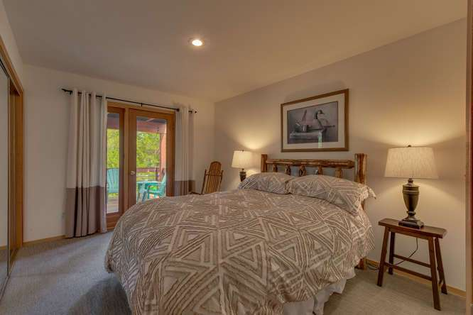 Tahoe Donner Home for Sale  | 12418-Snowpeak-Way-Truckee-CA | Bedroom