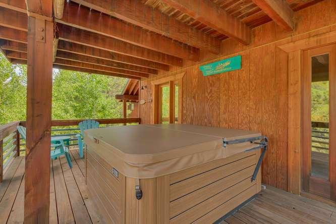 Tahoe Donner Real Estate   12418-Snowpeak-Way-Truckee-CA   Downstairs Patio