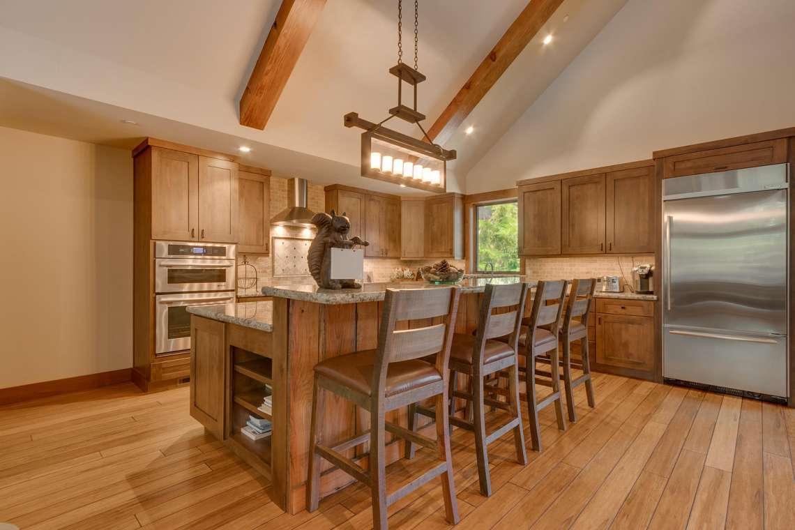 Lake Tahoe luxury kitchen in Carnelian Bay, CA