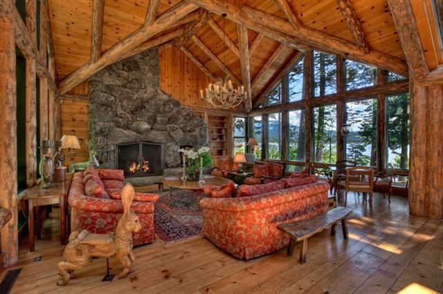Carnelian Bay Real Estate, Bruce Olson Lakefront Home