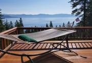View of Carnelian Bay and Lake Tahoe