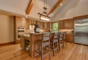Lake Tahoe luxury kitchen in Carnelian Bay, CA