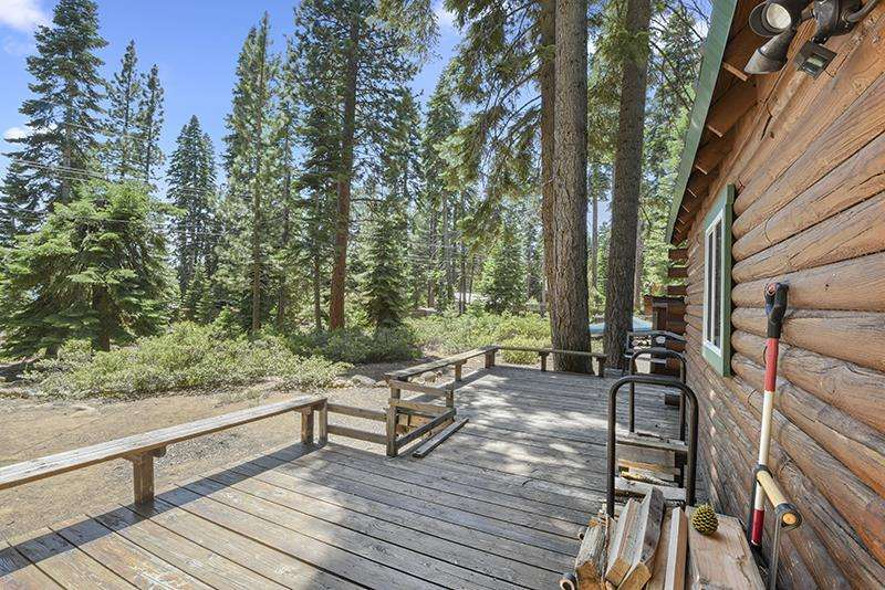 Tahoe Vista Real Estate |  Deck