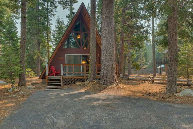 Lake Tahoe A-Frame Cabin on the West Shore