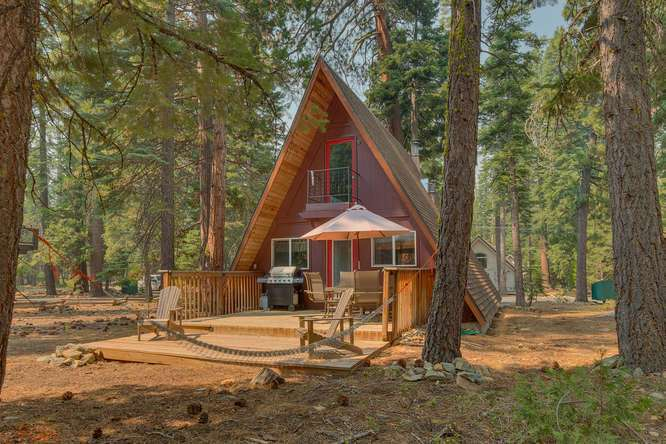 Lake Tahoe A-Frame Cabin For Sale