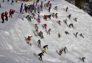Dave Westall Competing in the PMS Classic at Squaw Valley