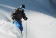Dave Westall Skiing Powder