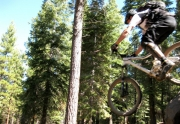 Dave Westall Riding Bikes in Truckee
