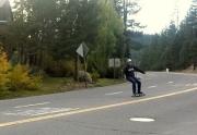Lake Tahoe Realtor Dave Westall longboarding