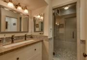 Luxury Lake Tahoe Bathroom in Dollar Point