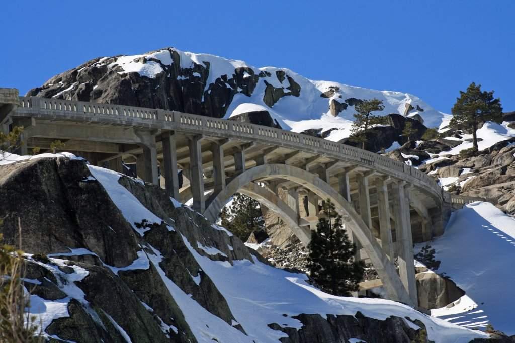 Old 40 Bridge on Donner Summit