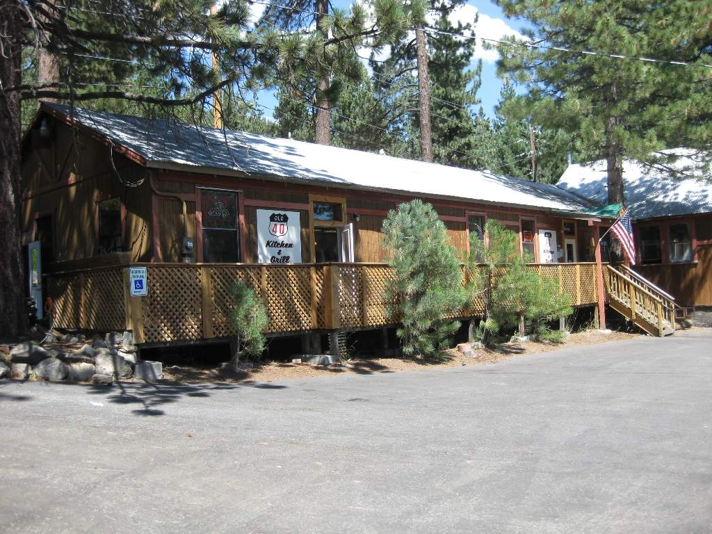 Old 40 Kitchen at Donner Lake
