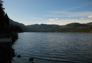 Looking West on Donner Lake