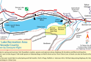 Donner Lake Recreation Map by Dewayne Hight
