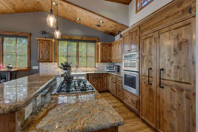 Exceptional Truckee Acreage Estate | 13074 Timber Ridge Ct | Chef's Kitchen