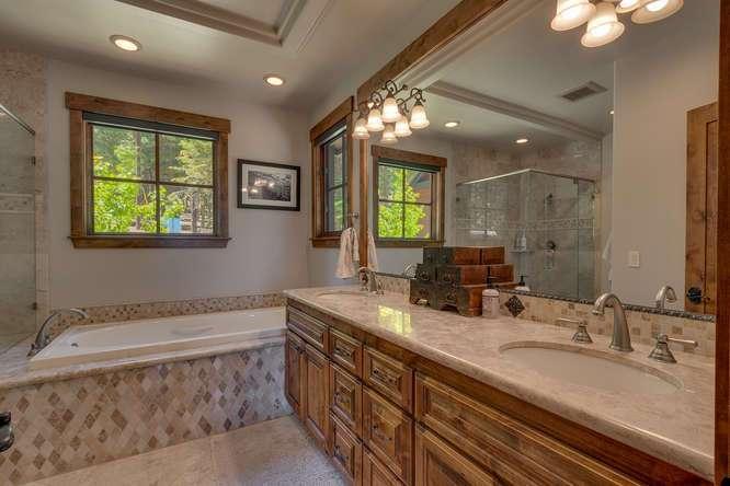 Exceptional Truckee Acreage Estate | 13074 Timber Ridge Ct | Master Bathroom