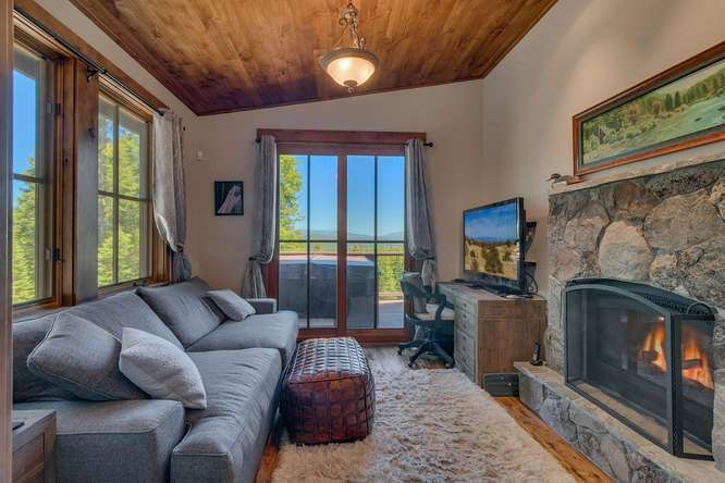 Exceptional Truckee Acreage Estate | 13074 Timber Ridge Ct | Office