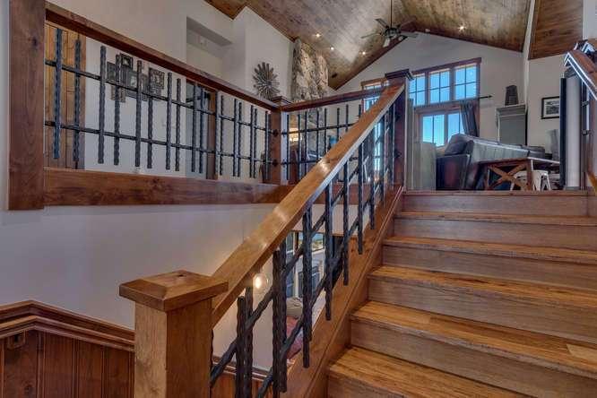 Exceptional Truckee Acreage Estate | 13074 Timber Ridge Ct | Staircase