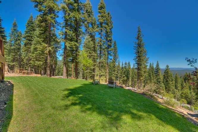 Exceptional Truckee Acreage Estate | 13074 Timber Ridge Ct | Back Yard