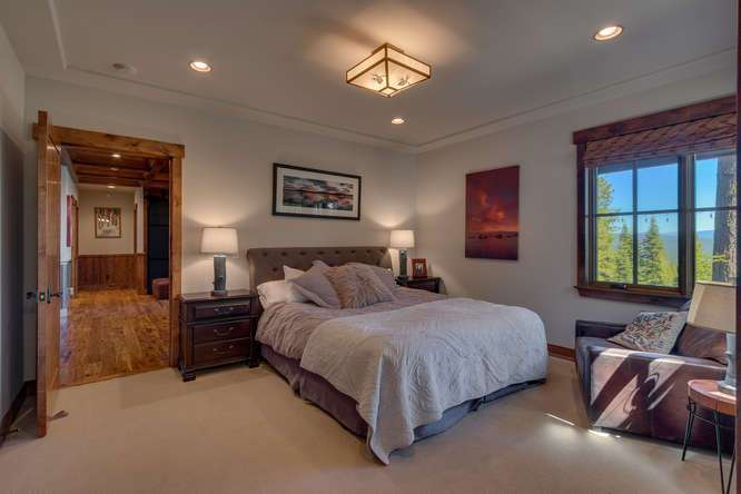 Exceptional Truckee Acreage Estate | 13074 Timber Ridge Ct | Guest Bedroom