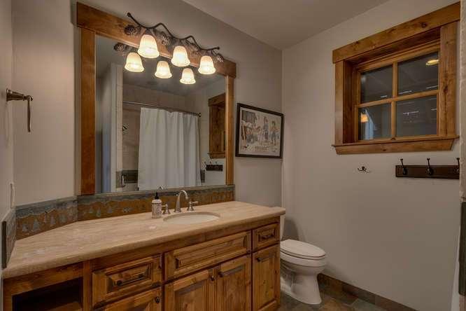 Exceptional Truckee Acreage Estate | 13074 Timber Ridge Ct | Guest Bathroom