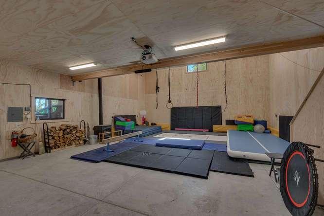 Exceptional Truckee Acreage Estate | 13074 Timber Ridge Ct |Barn Interior