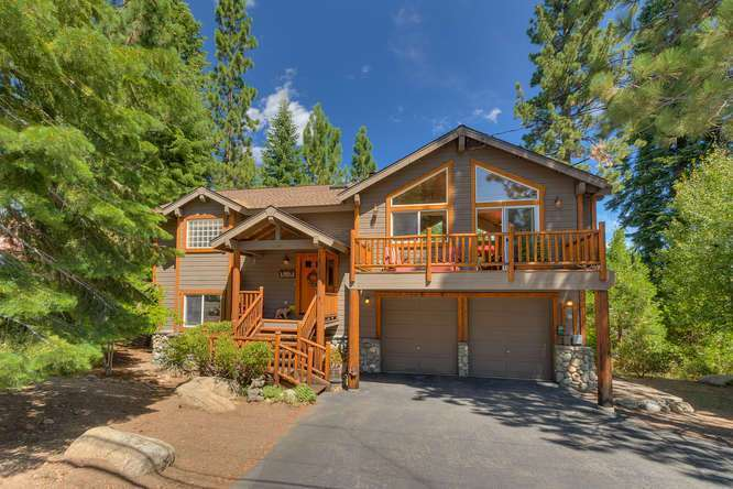 Home for Sale in Tahoe City | 430 Granlibakken Rd Tahoe City | Front Exterior