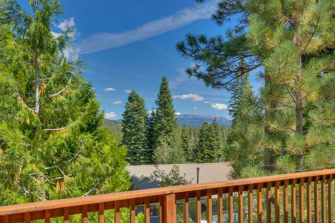 Lake Tahoe Home for Sale | 430 Granlibakken Rd Tahoe City | Patio View