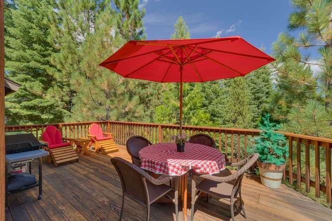 Tahoe City Real Estate | 430 Granlibakken Rd Tahoe City | Patio