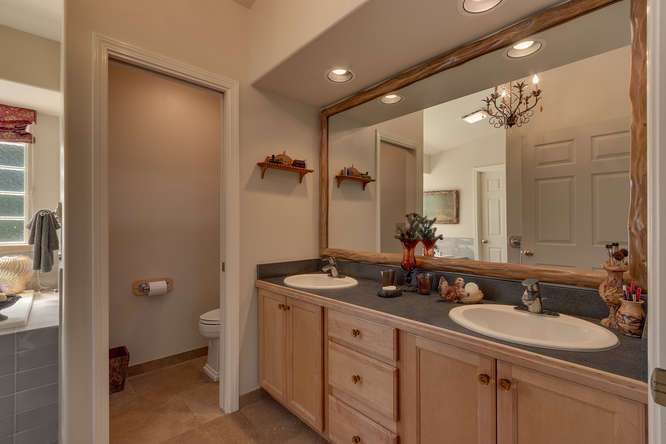 Lake Tahoe Home for Sale | 430 Granlibakken Rd Tahoe City | Master Bath