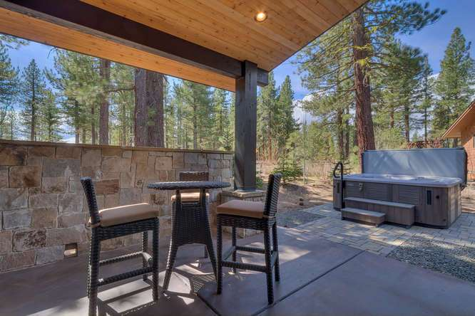 Truckee Luxury Real Estate | 11239 Henness Rd Truckee CA | Back Patio