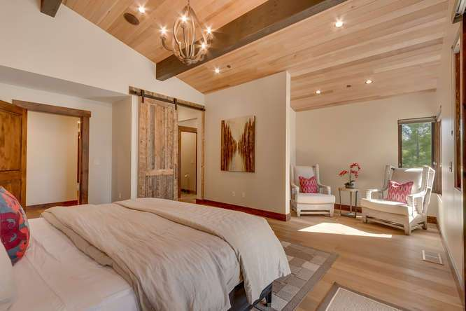 Truckee Real Estate | 11239 Henness Rd Truckee CA | Master Bedroom