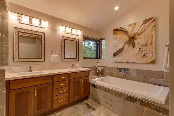 Truckee Luxury Real Estate | 11239 Henness Rd Truckee CA | Master Bathroom