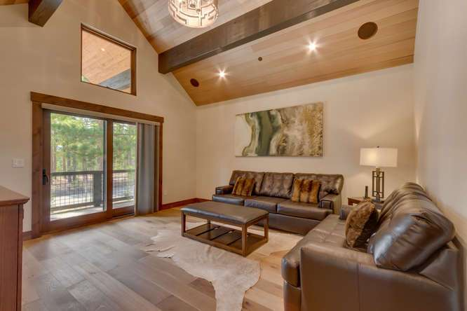 Lake Tahoe Luxury Real Estate | 11239 Henness Rd Truckee CA | Family Room