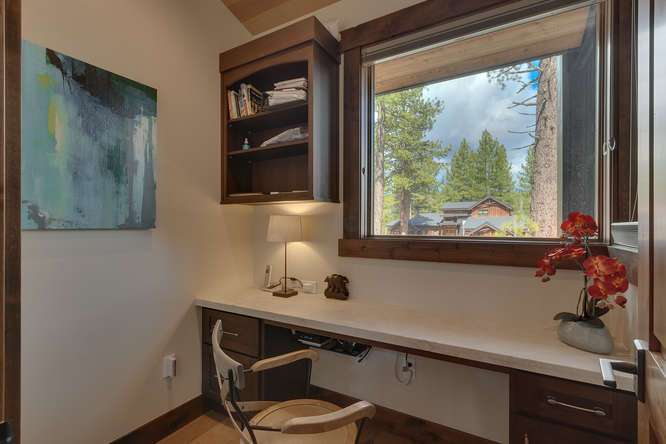 Truckee Luxury Real Estate | 11239 Henness Rd Truckee CA | Office