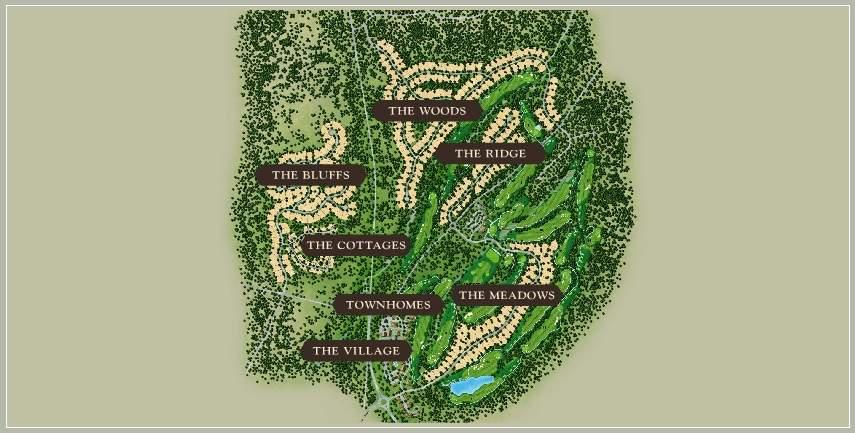 Grays Crossing Neighborhood Map | Gray's Crossing Real Estate
