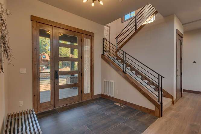 Front entry way | Luxury Gray's Crossing Golf Course Home