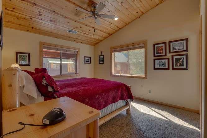 Tahoe Donner Condo |11375 Northwoods Blvd #4 | Guest Bedroom