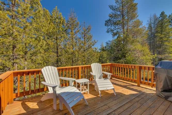 Tahoe Donner Condo |11375 Northwoods Blvd #4 | Sunny Back Deck