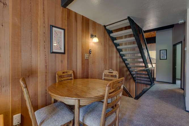North Lake Tahoe Condo for Sale | 1001-Commonwealth-Dr-143 | Dining Room