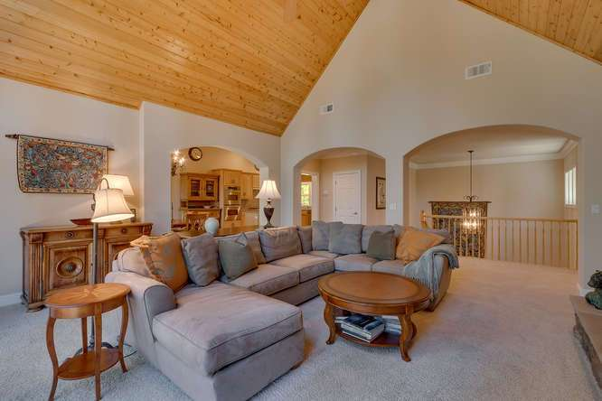 Home for Sale Kings Beach Lake Tahoe | Living Room