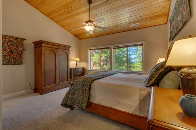 Kings Beach Real Estate | Master Bedroom