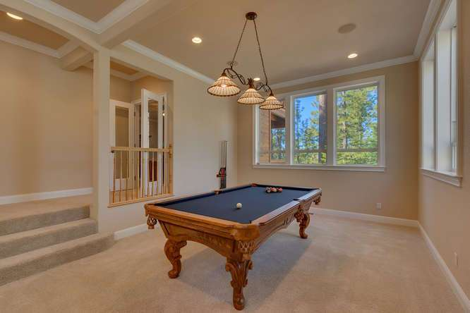 Kings Beach luxury home | Billiards parlor