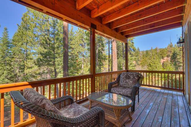 Lake Tahoe Home for Sale | Back Deck